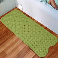 Hot Sale 1 pc Bathroom PVC Bathroom Non Slip Mat Bath Pad Shower Room Mat Mat Bathroom Plastic MatLiving Room Tapete Rug(China)