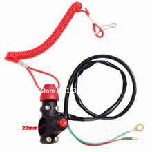 Tether Line Kill switch 43cc 47cc 49cc Mini PIT Pocket Rocket Quad Dirt Bike ATV Motorcycle 50cc 70cc 110cc 125cc