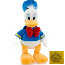 Free shipping 50cm=19.6inch Original Donald Duck And Daisy duck Stuffed animals plush Toys elucia Donald Duck Plush Toy