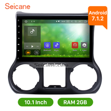 Seicane Android 10.1 inch HD car GPS Navigation Radio Head unit for 2011 2012-2014 JEEP Wrangler with 2G RAM Bluetooth WIFI USB(China)