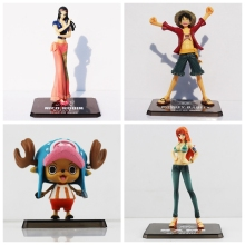 1Pcs One Piece Chopper Luffy nico Robin Nami PVC Action Figure Toy great gift for Kids