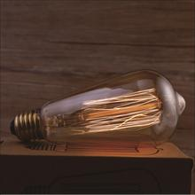 Retro lamp st64 vintage edison bulb E27 incandescent bulb 220V holiday lights 40w 60w filament lamp lampada for home decor(China)
