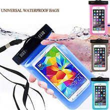 Universal Waterproof Swimming Phone Cover Against Water Pouch Case Bag For Mobistel Cynus E5 N452 F6 F8 T2 T5 T6 E5