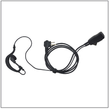 High Quality M Plug 2-wired Ear Loop Earpiece with PTT for Motorola GP300 GP88 GP88S GP3688 P040 CP140 GP3188/HYT TC-500