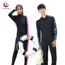 Mens Diving Wetsuits Long Sleeve One-piece Swimwear Swimming Suit For Women Quick Dry Snorkeling Suit Anti-UV Protection S-XXXL