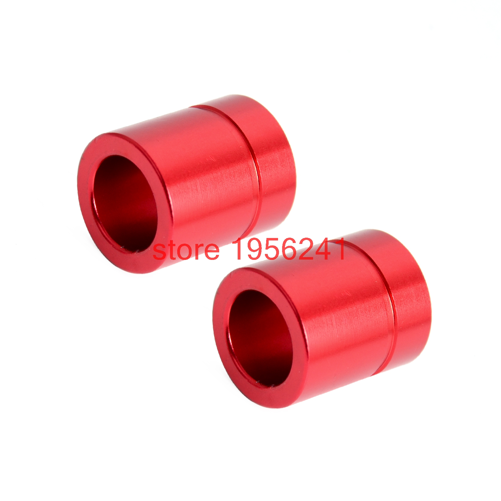 Red Billet Front Wheel Hub Spacers For Honda CRF250L CRF250M 2012 - 2015 2013 2014 CRF250 L M<br><br>Aliexpress