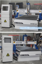 Acctek wood carving cnc equipment 1325/1530/2030/2040/3 axis wood carving cnc router with dust collector