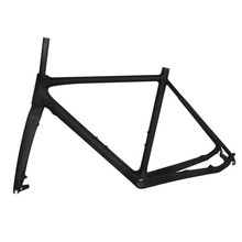 SmileTeam Cyclocross Carbon Frame Disc Full Carbon Fiber Cyclocross Frame, Carbon Cyclocross Frames Free Shipping(China)