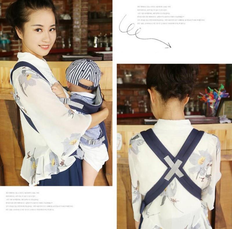 MOTOHOOD Baby Kangaroo Backpack Ergonomic Baby Carrier Wrap Breathable Sling baby Tragetuch Adjustable Comfort Infant Hipseat (14)