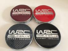 4pcs Free shipping 56.5mm 60mm WRC Car emblem Wheel Center Hub Cap wheel Badge covers Auto accessories(China)