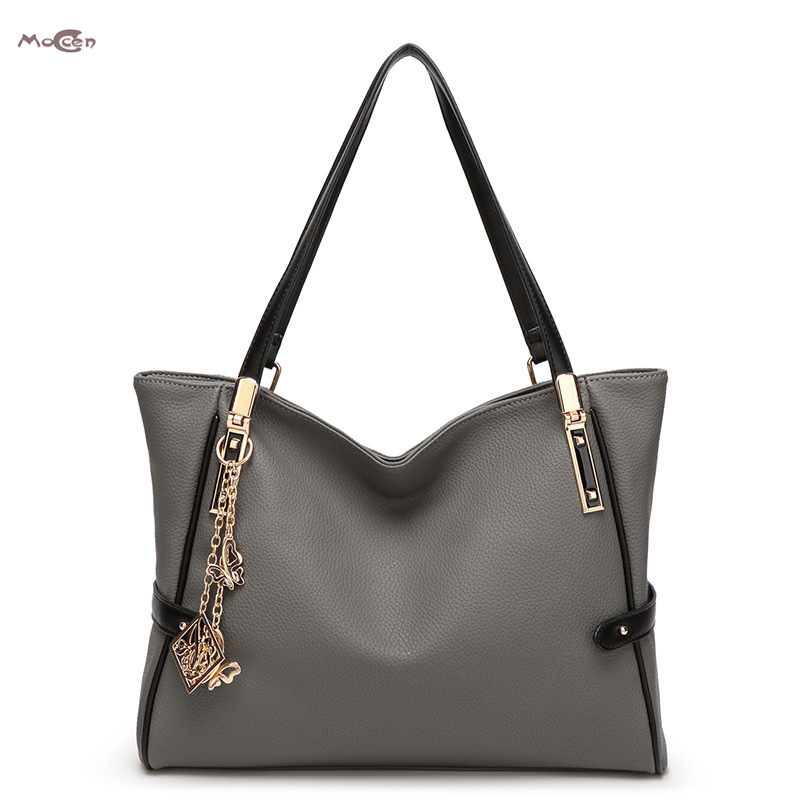 Moccen Women Crossbody Shoulder Bag Casual Tote Women Bag  PU Leather Top-Handle Bags Fashion European And American Style<br><br>Aliexpress