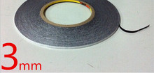 3MM*50M 3M 9448B Black Double Sided Adhesive film Tape for Mobile Phone Touch Screen/LCD/Display Glass free shipping