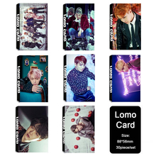 Youpop KPOP BTS Bangtan Boys WINGS JUNGKOOK V Album LOMO Cards K-POP New Fashion Self Made Paper Photo Card HD Photocard LK428(China)