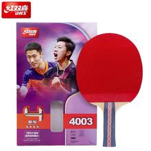 100% original DHS Table Tennis Racket 4003 4006 4007 Ping Pong Paddle Table Tennis Racquets indoo sports Raquete