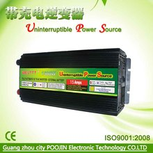 solar power inverter 1500W 3000W Peak power inverter circuit 12v 220v with AC charger(China)
