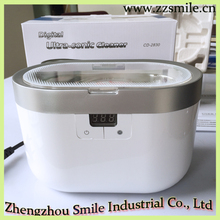 Double Injected Color 0.6L Tank Capacity Ultrasonic Cleaner with Digital Timer Display CD-2830