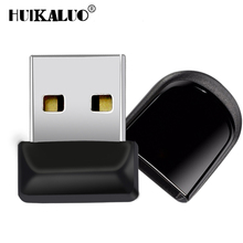 Micro Mini 100% Real Capacity Black USB Flash Drive 64GB 32GB 16GB 8GB 4GB USB Tiny Pen Memory Sticks Car usb Flash stick Drive(China)
