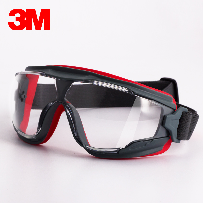 3M GA501 Goggles Windproof Sand Painted Antimist Anti-shock Dustproof Professional Safety Goggles KU003<br>