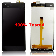 For Highscreen Omega Prime S smartphone touch Screen Panel Glass Digitizer +LCD Display Screen FPC9231t Assembly(China)