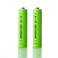 2pcs/lot 1.2V 1400mAh AAA Battery Efficient Energy Rechargeable Ni-CD 3A Neutral Battery for Controller Toys Electronic P10