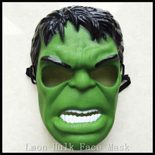 Free shipping Halloween Party Cosplay Head PVC mask cartoon hulk mask for carnival and party halloween Fancy Costume Toys