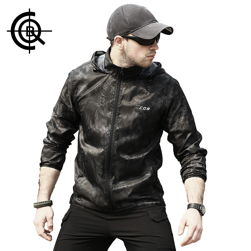 Men Camouflage Skin Thin UV-proof Coat Outdoor Hiking Jacket Breathable Waterproof Windbreaker Quickly-dry Jackets for Sport<br><br>Aliexpress