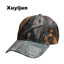 Xuyijun Mens Camo Cap Baseball Casquette Camouflage Hats For Men Camouflage Cap Women Blank Desert Camo Hat dad cap bones(China)