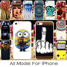 22 Silicon Mobile Phone Case Cover For Apple iPhone 5c 4 4s 5 5s 6 6s 7 6 Plus 6s Plus 7 Plus SE iPhone5c Case Shell Hoods Cover