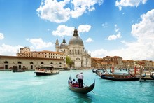 Venice Boats Buildings rivers canal people cities urban landscape 506FJ living room home wall art decor wood frame poster(China)