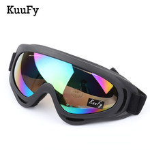 KuuFy Outdoor Sports Adult Professional snow Windproof X400 UV Protection Ski Glasses Snowboard Skate Skiing Goggles(Hong Kong)