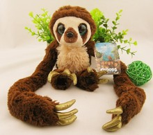 25cm to 65cm Original single long arm The Croods belt monkey plush toy animal doll for birthday Christmas present 1pcs