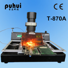 PUHUI T-870A BGA Notebook Rework Station T870A IRDA Soldering Welder Infrared light SMT SMD 1000W(China)