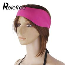 Relefree Neoprene Ear Band Head Band Swimming Bathing Head Protector Cap Wrap Adjustable(China)