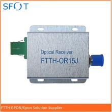 FTTH-OR15J CATV cable TV user type small light machine FTTH optical receiver TV receiver(China)