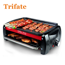 BY 1200w Smokeless electric grill bbq grill barbecue grill(China)