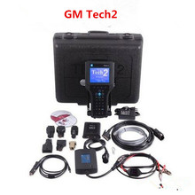 High Quality GM TECH2 Full Set Support 6 Software(GM,OPEL,SAAB ISUZU,SUZUKI,HOLDEN) GM Tech 2 Scanner + Candi Free Shipping