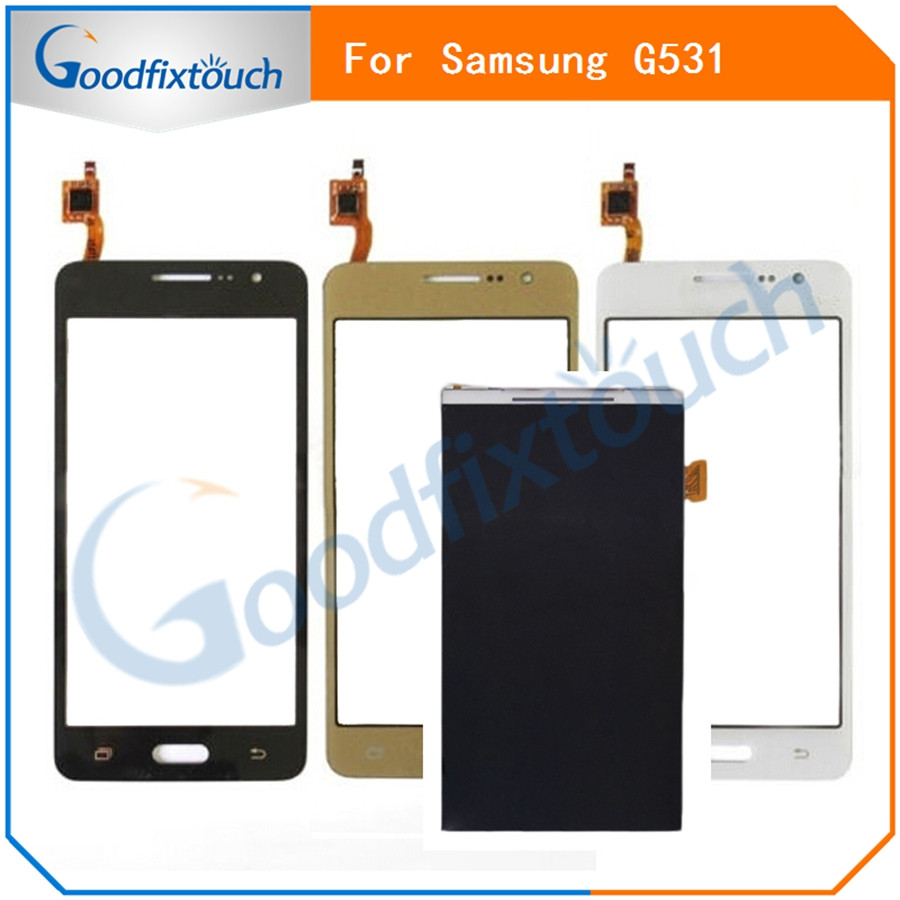 SM0082 New For Samsung Galaxy Grand Prime G531 G531F SM-G531F G531H Monitor LCD Display + Digitizer Touch Screen Replacement Parts