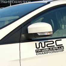 Reflective Tape WRC World Rally Car Accessories Car Styling Golf 7 Car Stickers and Decals Motorcycle
