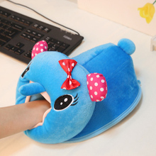 Winter USB Heated Mouse Pad Hand Warm Hands USB Minions Cute Plush Cover Mousepad Heat Source Pad for Officer tablet Home