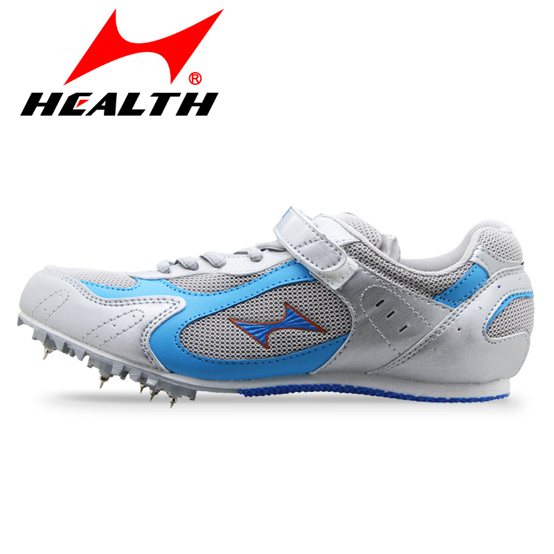 Health 100-800 meter sprint for men spike  breathable mesh You man running shoes spikes athletic training shoes free shipping<br>