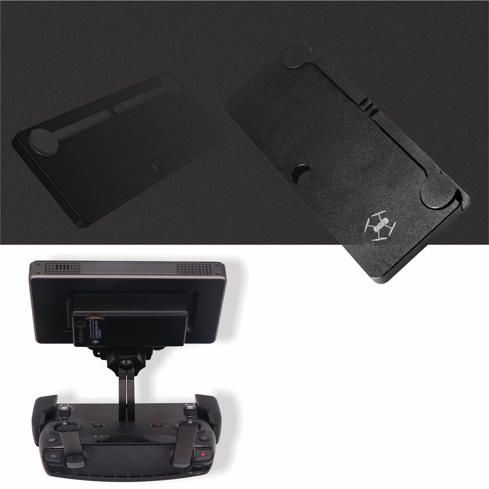 Replacement DJI CrystalSky Monitor Bracket Holder and Remote control plate adapter for DJI Mavic Pro & DJI Spark controller
