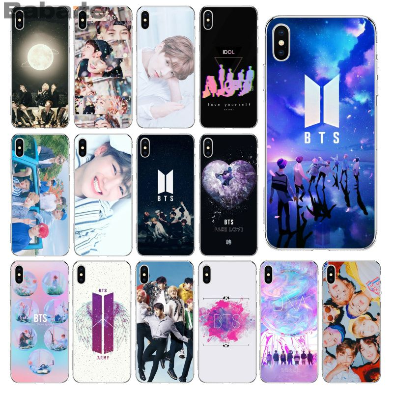 Clothes, Shoes & Accessories Boys' Shoes Phone Cases Bts Bangtan Boys Cute Cartoon For Iphone X 10 5 5s Se 6 6s 7 8 Plus High Quality Clear Soft Tpu Silicone Coque Cover