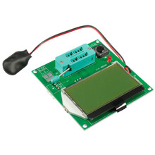1PC All-in-1 Component Tester Transistor GM328 Lcd Display ESR Meter Cymometer Square Wave Generator Board