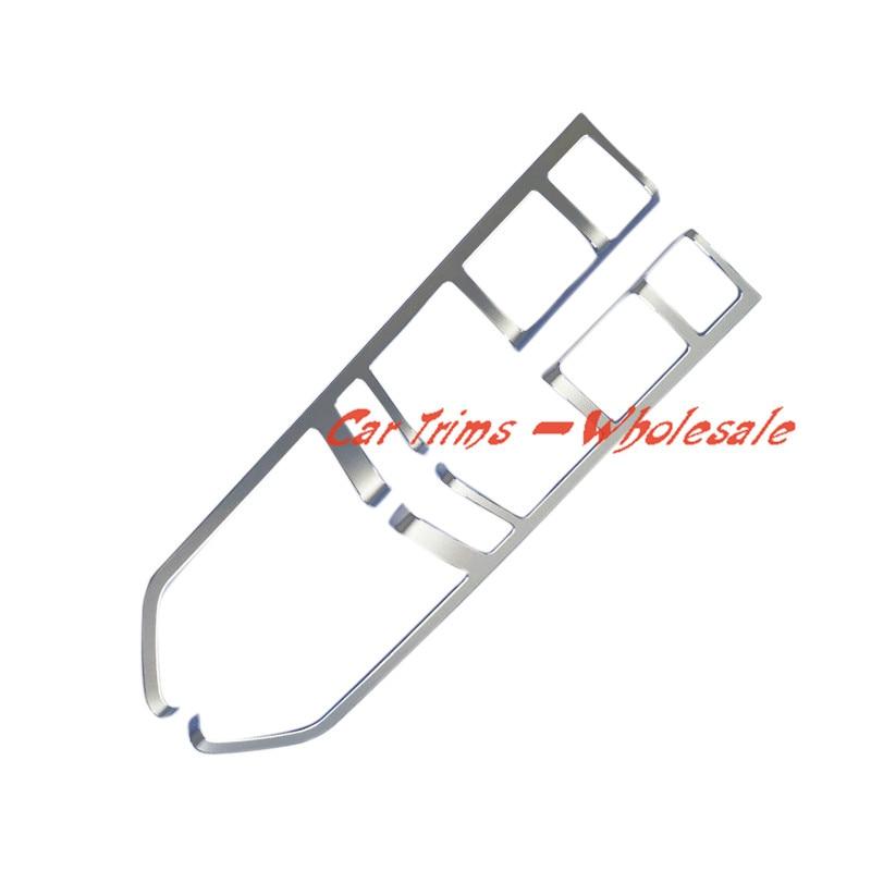 Quality  2PCS  Metal Interior Gear Shif Button Cover Trim  for Porsche Panamera  (970) 2010-2015<br><br>Aliexpress