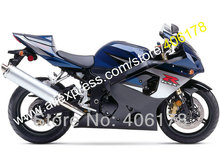 Hot Sales,For SUZUKI GSXR 600 750 K4 2004 2005 GSX-R600 GSX-R750 04 05 R600 R750 Black Motorcycle fairings (Injection molding)(China)