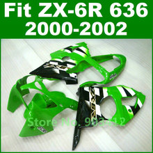 Hot sell for Kawasaki ZX6R 2000 2001 2002 fairing kit Ninja 636 00 01 02  original paint free customize bodywork M7VC