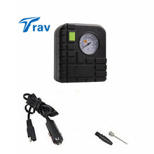 12v Car Motorcycle Motor Bike Compact Mini Tyre Air Compressor Inflator Pump Trav 35L/min