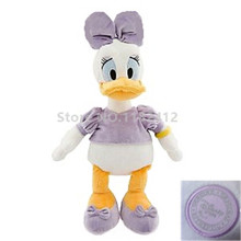 Daisy Duck Plush Toy Stuffed Animals 50CM 20'' Donald Ducks Minnie Mickey Soft Toys for Children Baby Girls Kids Gifts
