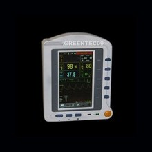 EMS Free ShippingCMS6500 7'' ICU Patient Monitor Vital Signs Monitor holter medical equipment Three Years Warranty