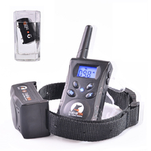 Training Collar for dogs Electric Shock+Vibration+Light+Word OF Command Dog Training Device Pet dog Trainer Remote Control 500M